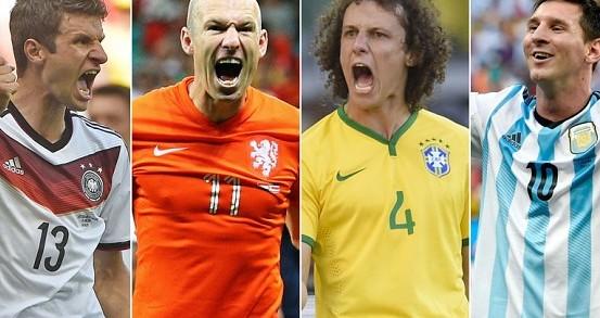 Полуфинал: Аржентина - Холандия